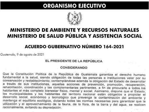 Se emite el reglamento para la gestión integral de residuos y desechos sólidos comunes en Guatemala