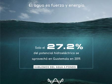 El agua es fuerzo y energía