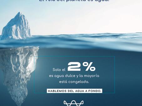 El 70% del planeta es agua
