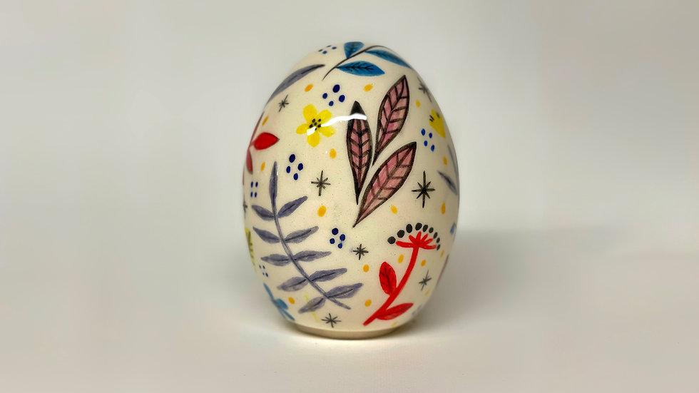 Floral Egg