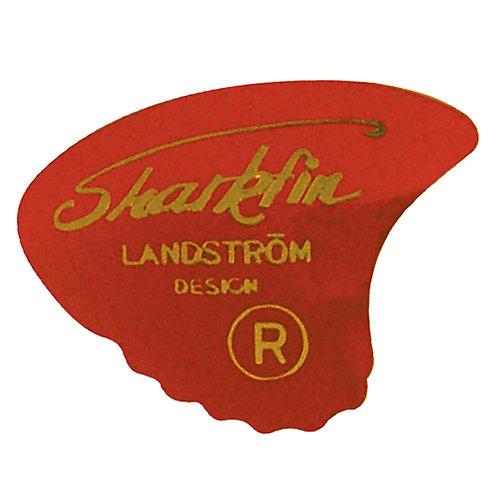 Sharkfin Pick ~ Soft Red