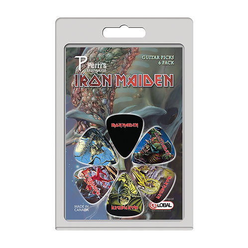 Perri's 6 Pick Pack ~ Iron Maiden Killers