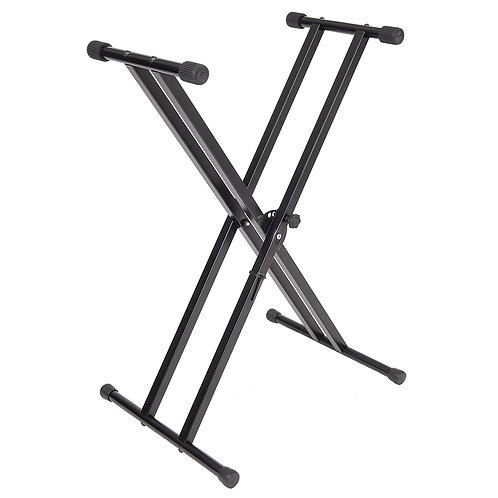 Kinsman� Standard Series Double Braced Keyboard Stand