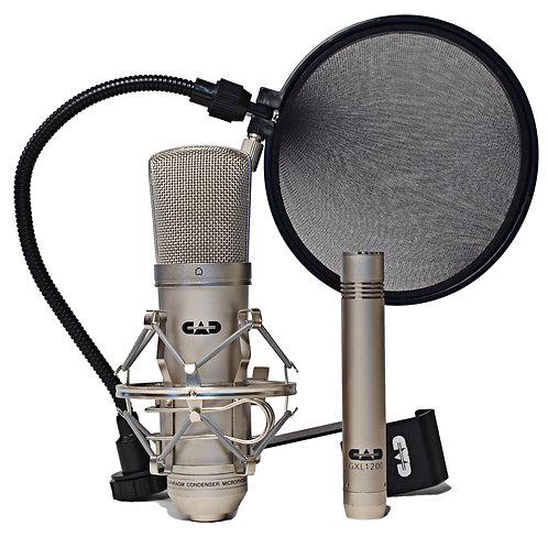 CAD GXL 2200 Microphone Studio Pack ~ Satin ~ GXL2200 / GXL1200 / EPF5A