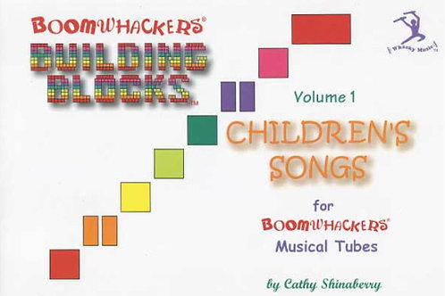 Boomwhackers BV1T Building Blocks Book ~ Volume 1