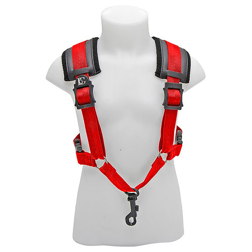 BG A & T Sax Comfort Harness Small ~ Red ~ Snap Hook