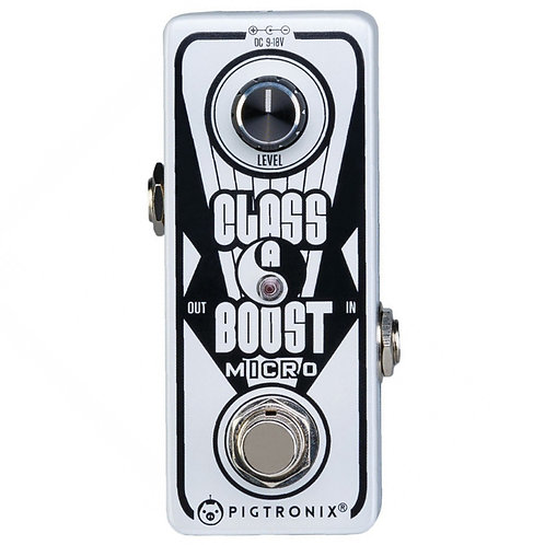Pigtronix Class A Boost Micro Pedal