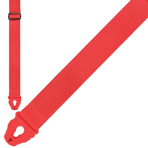 Perri's Nylon Lock Strap ~ Red