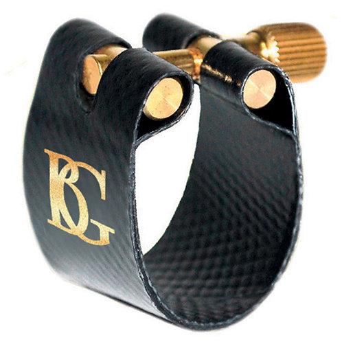 BG Flex Fabric Ligature ~ Bb Clarinet ~ Gold