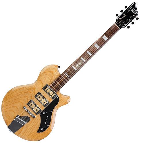 Supro Hampton Baritone Guitar ~ Natural Ash