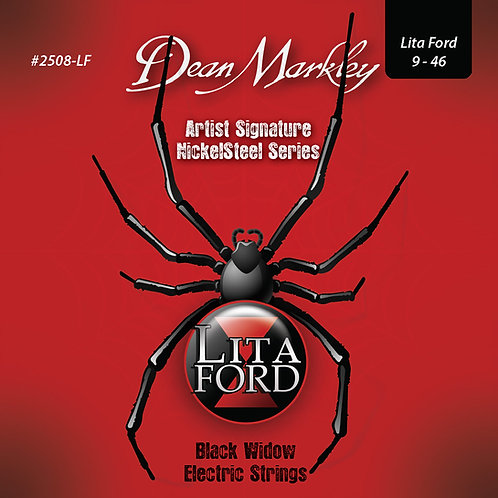 Dean Markley Lita Ford Signature Strings ~ Light