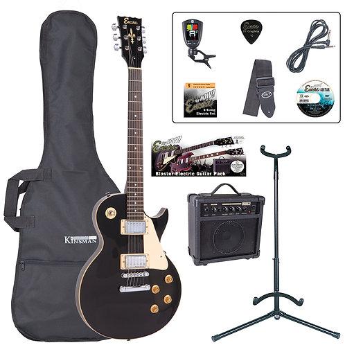 Encore E99 Electric Guitar Pack ~ Gloss Black