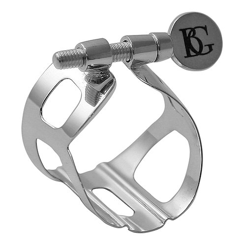 BG Traditional Ligature - Alto Sax - Silver plated