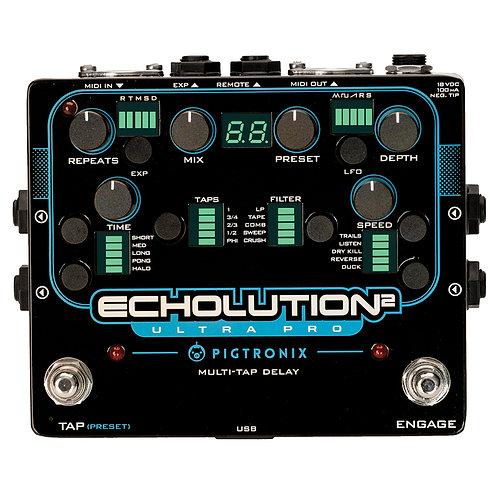 Pigtronix Echolution 2 Ultra Pro Multi-Tap Delay Pedal