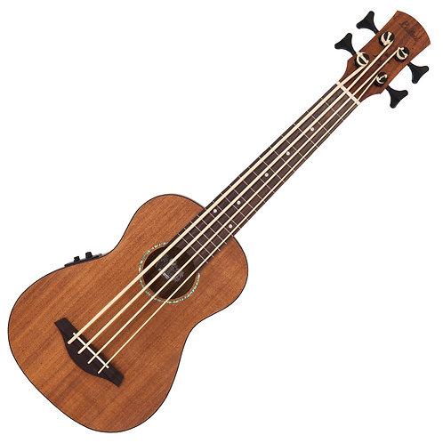 Laka Electro-Acoustic Ukulele ~ Bass