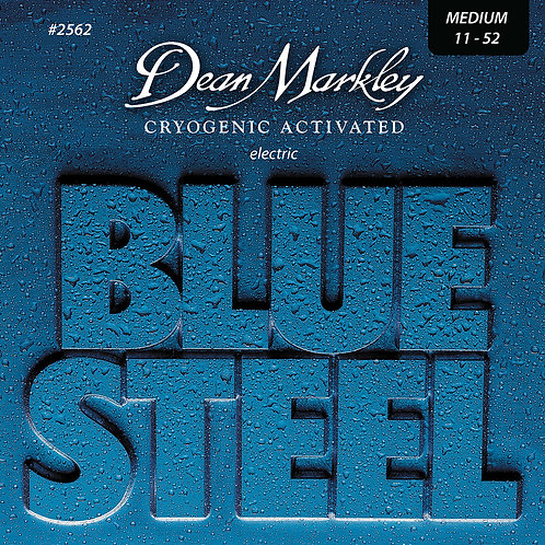 Dean Markley Blue Steel Electric Guitar Strings Medium 11-52