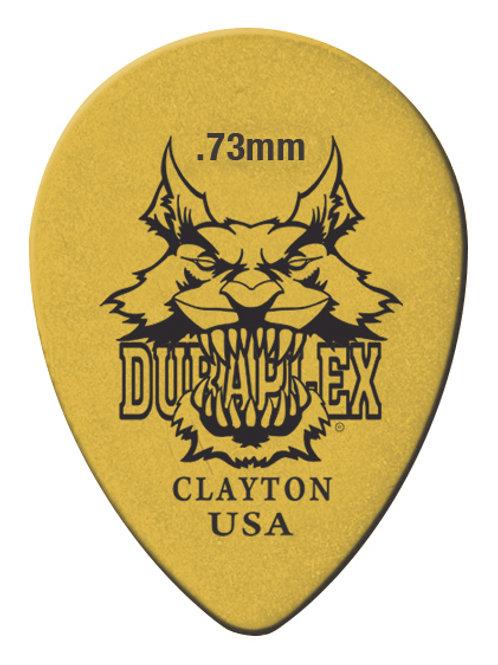 Clayton Duraplex Small Teardrop 0.73mm (72 Pack)