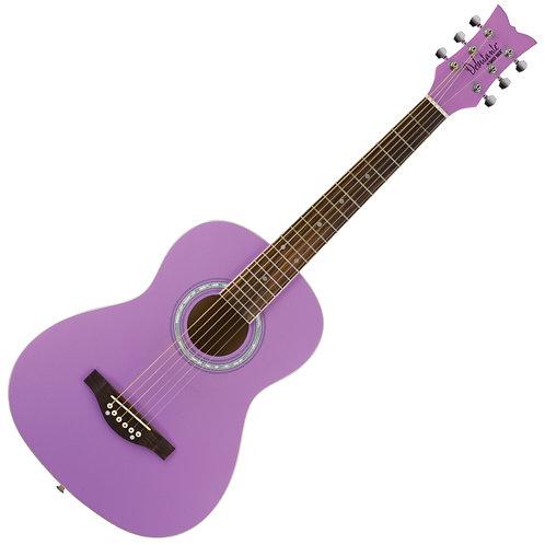 Daisy Rock 'Debutante Junior Miss Acoustic' Guitar ~ Popsicle Purple