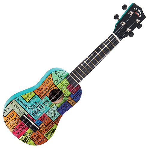 The Cavern Club Ukulele ~ 'The Wall'