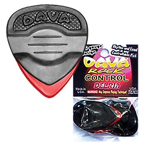 Dava 'Rock Control' Delrin Pick � 36 Pack