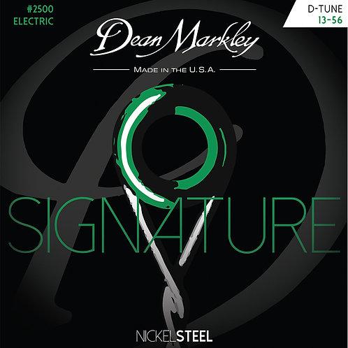 Dean Markley Drop Tune 13-56 NickelSteel Electric Signature Series String Set