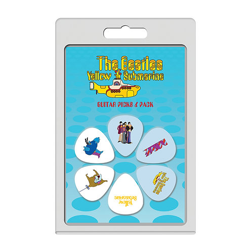 Perri's 6 Pick Pack ~ The Beatles Yellow Submarine