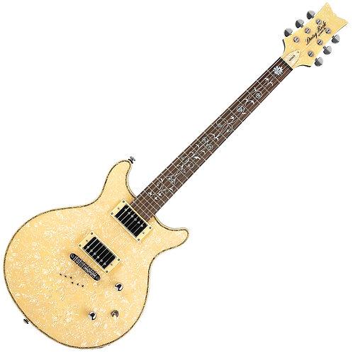 Daisy Rock 'Elite Venus' Electric Guitar ~ Vintage Ivory Pearl