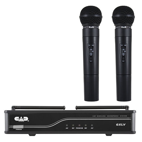CAD GXLV VHF Dual Microphone Wireless System - H Frequency Band