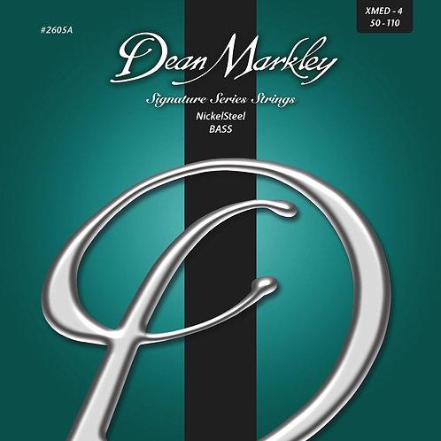 Dean Markley NickelSteel Signature Bass Strings Extra Medium 4-String 50-110