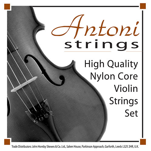 Antoni Violin String Set ~ 4/4 & 3/4 Size