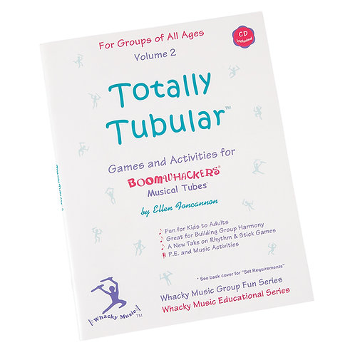 Boomwhackers Totally Tubular CD ~ Volume 2