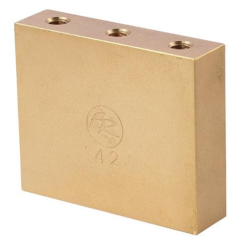 Floyd Rose Fat Brass Tremolo Block ~ 42mm