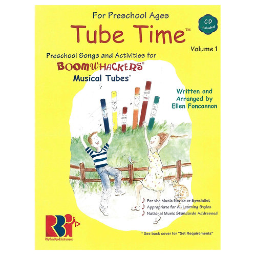 Boomwhackers Tube Time CD � Volume 1
