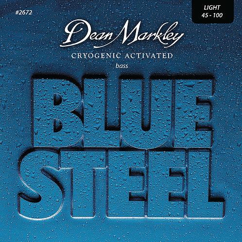 Dean Markley Blue Steel Bass Guitar Strings Light 4 String 45-100