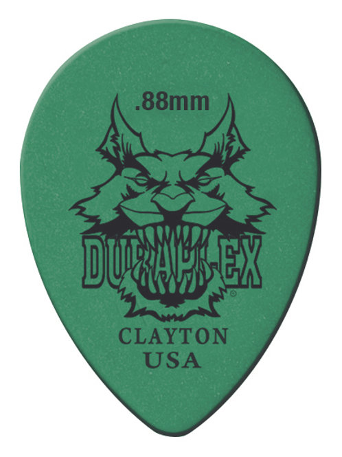 Clayton Duraplex Small Teardrop 0.88mm (12 Pack)
