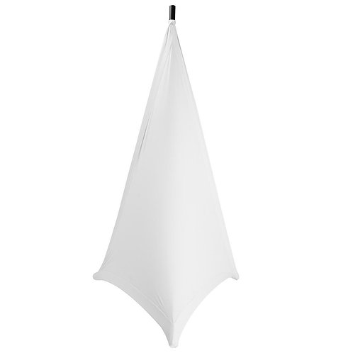 On-Stage Speaker/Lighting Stand Skirt - White
