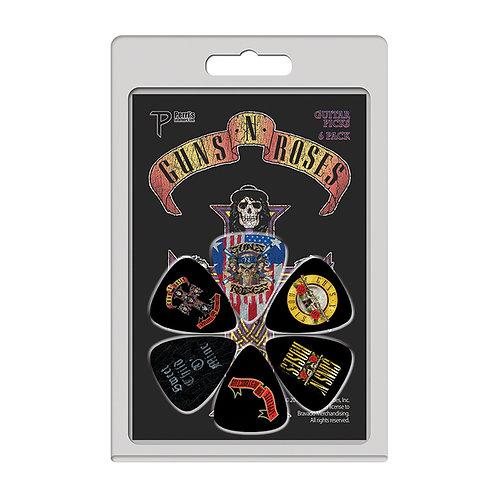 Perri's 6 Pick Pack ~ Guns 'N' Roses