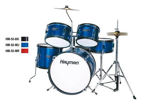 Hayman Junior Series 5-piece drum kit