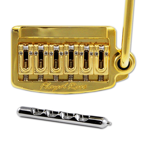 Floyd Rose FR Rail Tail Tremolo ~ Wide Gold