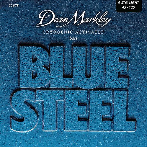 Dean Markley Blue Steel Bass Guitar Strings Light 5 String 45-125