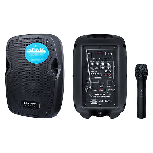 "KAM Portable 8"" Speaker with Bluetooth ~ 450w"