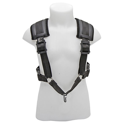 BG A and T Saxophone Comfort Harness ~ Small ~ Red - Metal Hook