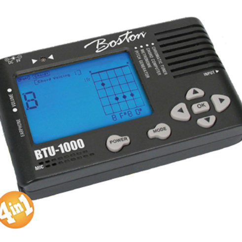 Boston Deluxe Tuner/Metronome/Chord Computer/Pitch Generator