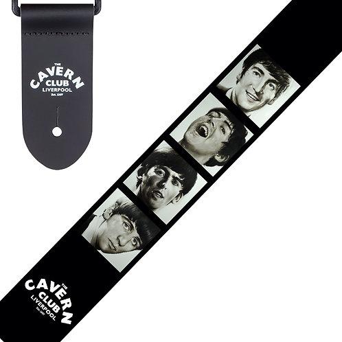 The Cavern Club Guitar Strap ~ Fab Faces