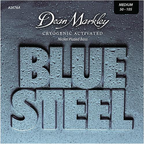 Dean Markley Blue Steel NPS Bass Guitar Strings Medium 4 String 50-105