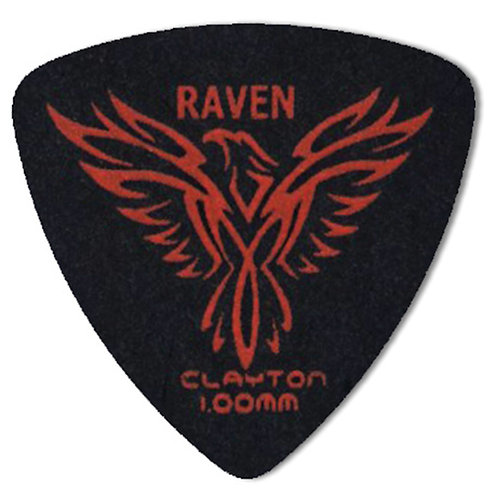 Clayton BLACK RAVEN ROUNDED TRIANGLE 1.00MM (12 Pack)
