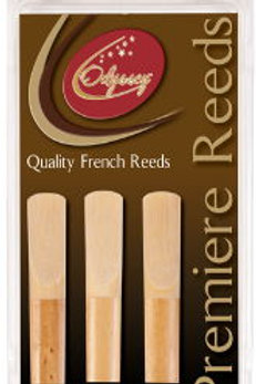 Odyssey Premiere Bass Clarinet Reeds - 2.5 Pack of 3