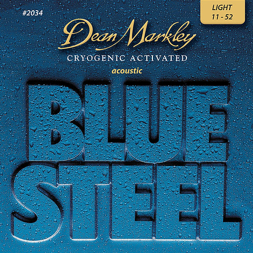 Dean Markley Blue Steel Cryogenic Light 11-52