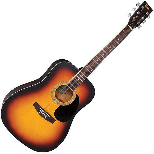 Encore Acoustic Guitar ~ Sunburst