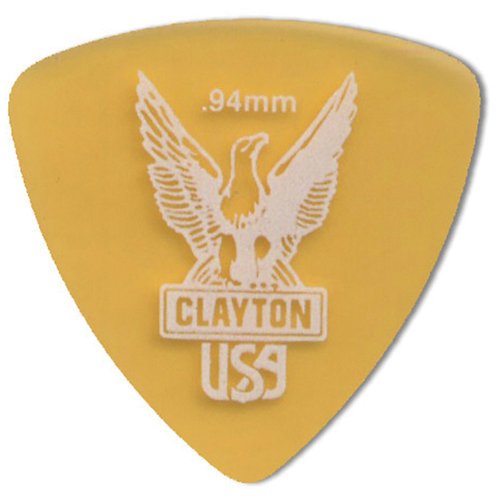 Clayton Ultem Tortoise Rounded Triangle .94mm (48 Pack)